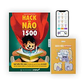 [Hộp sách Tết 2021 - Phiên bản giới hạn] Hack Não 1500 + Sổ tay Hack Não Notebook (Tặng App Hack Não Pro học phát âm miễn phí)