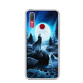 Ốp lưng điện thoại Vivo Y11 - Silicon dẻo - 0485 Wolf04 - Hàng Chính Hãng