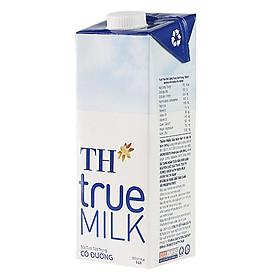 Sữa Tươi Tiệt Trùng Có Đường TH True Milk (1L)