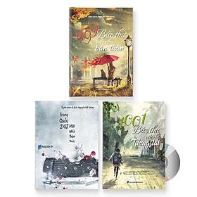 Combo 3 sách: 999 bức thư viết cho bản thân + 1001 bức thư viết cho tương lai + Trung Quốc 247: Mái nhà thân thuộc (Sách song ngữ Trung - Việt có phiên âm) + DVD quà tặng