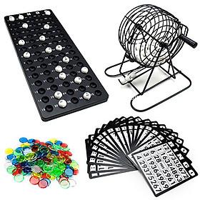 Bộ Trò Chơi Bingo Loto Lô Tô Vui Nhộn Dịp Party Lễ Tết