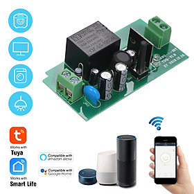 Tuya WiFi Smart Switch 10A/2200W Wireless Remote Switch Timer APP Control Universal Smart Home Automation Module Voice