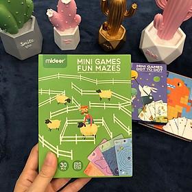 Bộ trò chơi Mê Cung Vui vẻ Độ khó tăng dần - Chính hãng Mideer Minigame Fun Maze