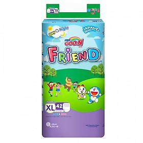 Tã/Bỉm quần Goon Friend Kích Cỡ (L48/XL42/XXL34), tặng kèm Gói 5 Miếng Tã/Bỉm Quần cùng Kích Cỡ