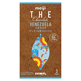 Meiji The Chocolate Socola đen nguyên chất của Venezuela 50g
