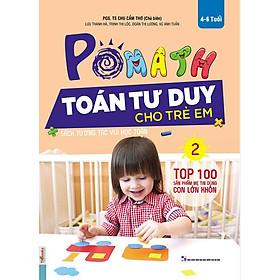 POMath - Toán Tư Duy Cho Trẻ Em 4-6 Tuổi (Tập 2) (Tặng Truyện Cổ Tích Song Ngữ Anh - Việt Cho Bé)