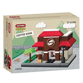 Đồ chơi lắp ráp - Chính hãng Hàn Quốc - Cửa Hàng Cà Phê Oxford ST33334 -  gồm 114 mảnh ghép dành cho bé 6 tuổi trở lên