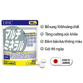 Viên uống Khoáng tổng hợp DHC Nhật Bản DHC tăng cường sức khỏe 90 ngày JN-DHC-MIN90