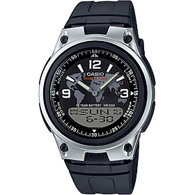 Đồng hồ nam dây nhựa Casio AW-80-1A2VDF