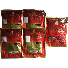 Combo 5 kẹo hồng sâm Hàn Quốc 200g, kẹo nhân sâm, kẹo sâm, kẹo hồng sâm 6 năm, kẹo hồng sâm
