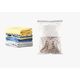 Túi Hút Chân Không Dùng Tay Ép Siêu Nhanh đựng quần áo, chăn màn (Không Cần Bơm Hút), đơn giản, dễ sử dụng GD424-BichCK
