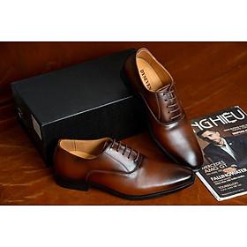 Giày Tây Nam Da Bò Công Sở Cao Cấp DYSEVEN Form Mới Nhất