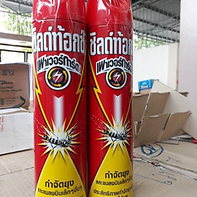 Bình xịt côn trùng đỏ Thái Lan