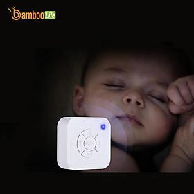 Máy tạo tiếng ồn trắng Bamboo Life BL083 hàng chính hãng Máy nghe tiếng ồn trắng white noise giúp bé ngủ ngon, sâu giấc chống giật mình