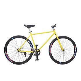Xe Đạp Fixed Gear Single Sportslink - Vàng Phối Đen