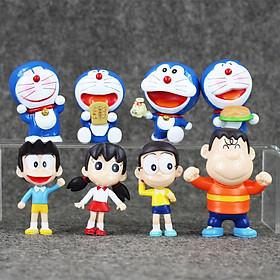 Bộ Mô Hình Doremon - Nobita Và Những Người Bạn