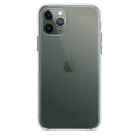 Ốp Lưng Dẽo Silicone Dành Cho Apple: iPhone 11, iPhone 11 Pro (Trong suốt)