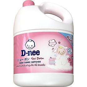 Dung Dịch Xả Quần Áo Cho Bé D-nee - Chai 3000ml (Hồng)