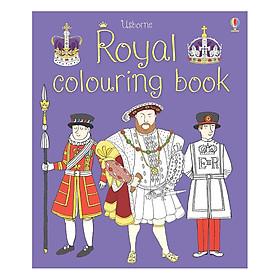 Sách tô màu Royal Colouring Book