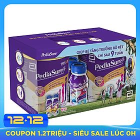 Hộp Quà Abbott: 2 Sữa Bột  Pediasure B/A PCLA (850g) + 2 Chai Sữa Nước Abbott Pediasure BA 3+ (237ml)