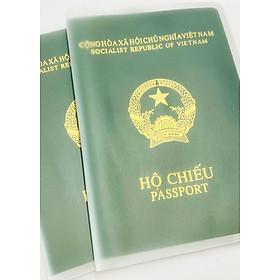Set 2 vỏ PVC bọc hộ chiếu