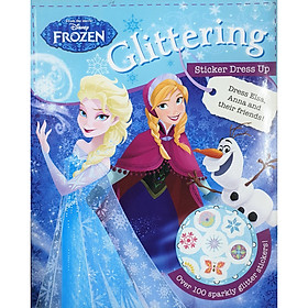 Disney Frozen Glittering Sticker Dress Up