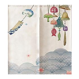 Japanese Style Noren Tapestry Kitchen Doorway Curtain 85x90cm Sakura