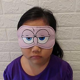 Đồ bịt mắt ngủ ban ngày 3D siêu êm – Miếng che mắt khi ngủ thoáng khí, chặn ánh sáng – Chuyên dùng cho dân văn phòng, học sinh, sinh viên (màu ngẫu nhiên)