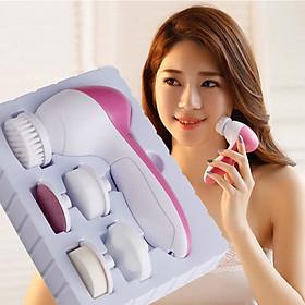 Máy Rửa Mặt Massage 5 Trong 1 RBeauty Cao Cấp - WYN2020 - HÀNG CHÍNH HÃNG, giúp bạn chăm sóc da một cách toàn diện và hiệu quả ngay tại nhà