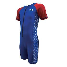 Áo bơi liền quần trẻ em TYR Blaz Junior Short Sleeve Suit