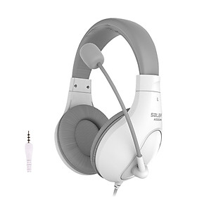 A566N Computer Wired Headphone Student Lightweight Noise Cancelling Headset with Microphone for Online Study Education