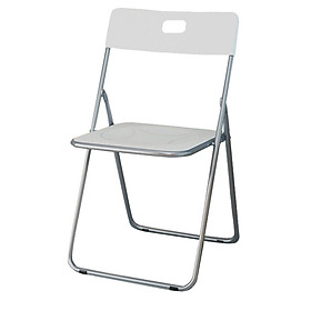Handsome folding chair stool Nordic plastic office computer portable chair living room balcony leisure back dining chair black SL1613Y2