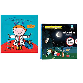 Combo 2 cuốn Cuốn sách lớn rực rỡ về bác sĩ + Bách khoa tri thức đa tương tác - Màn đêm
