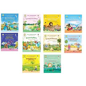 Bộ truyện tranh song ngữ Anh-Việt dạy bé theo từng chủ đề (bộ 10 cuốn)