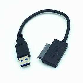 Cáp Chuyển Ổ DVD Laptop Ra Cổng USB 3.0 Tận Dụng Ổ Quang Cũ
