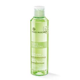 Nước Tẩy Trang  Và Cân Bằng Cho Da Nhờn Purifying Micellar Water 2 In 1 Yves Rocher (200 ml)