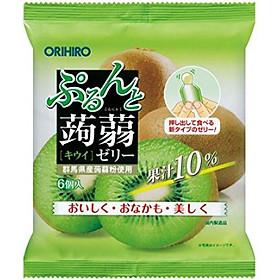 Combo 6 gói Thạch trái cây vị Kiwi 120gr