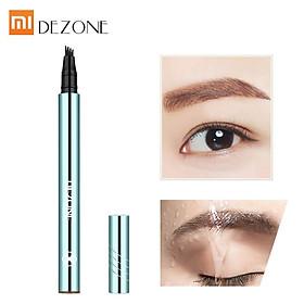 Youpin DEZONE Liquid Eyebrow Pencil Makeup Cosmetics Long-lasting Waterproof Sweatproof Eyebrow Pen Eyebrow-level