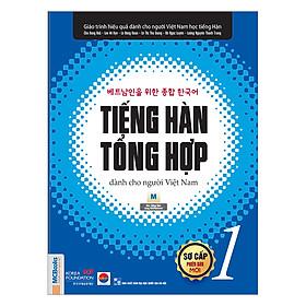 Tiếng Hàn Tổng Hợp Dành Cho Người Việt Nam - Sơ Cấp 1 (Bản Đen Trắng)