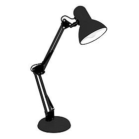 Đèn để bàn và làm việc kiểu dáng Pixar tặng kèm kẹp bàn (đen)