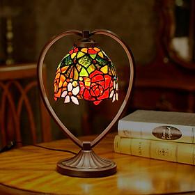 Đèn bàn trang trí Tiffany nhỏ - thích hợp để phòng ngủ, bàn cafe, bàn làm việc...