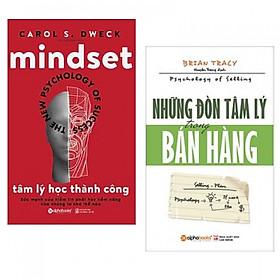 Combo Tâm lý học thành công + Những đòn tâm lý trong bán hàng -Tặng  kèm bookmark PD