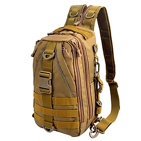 Multi-purpose Tactical Sling Pack Backpack Crossbody Shoulder Bag Daypack for Outdoor Fishing Hiking Climbing