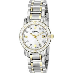 Bulova Women's 98R107 Diamond Accented Calendar Watch
