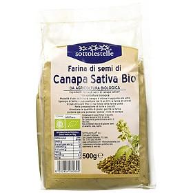 Bột hạt gai dầu hữu cơ Sottolestelle 500g Organic Hemp Flour