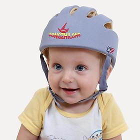 Mũ bảo hiểm đầu cho bé tập đi, tập bò dành cho bé từ 3 tháng - 4 tuổi