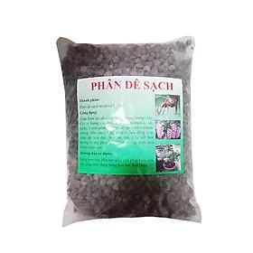 Phân dê đã qua xử lý (1kg/bịch) - chuyên dùng cho hoa lan, rau ăn lá, bonsai
