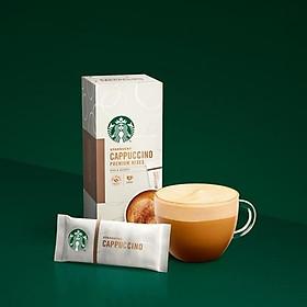 Cà phê Cappuccino - Dòng tuyển chọn đặc biệt của Starbucks (4x14g)