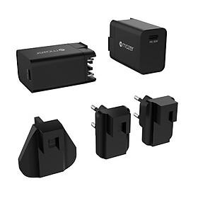 Củ Sạc Mazer EnerG WALL.MINI PD30W USB-C Charger (100-240V) - Hàng Chính Hãng