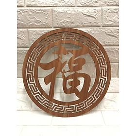 Trang trí chữ Phúc Hán dành cho bàn thờ treo tường TP1044